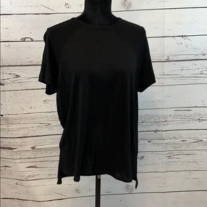 Rag & Bone Black Women's Short Sleeve Top size XS